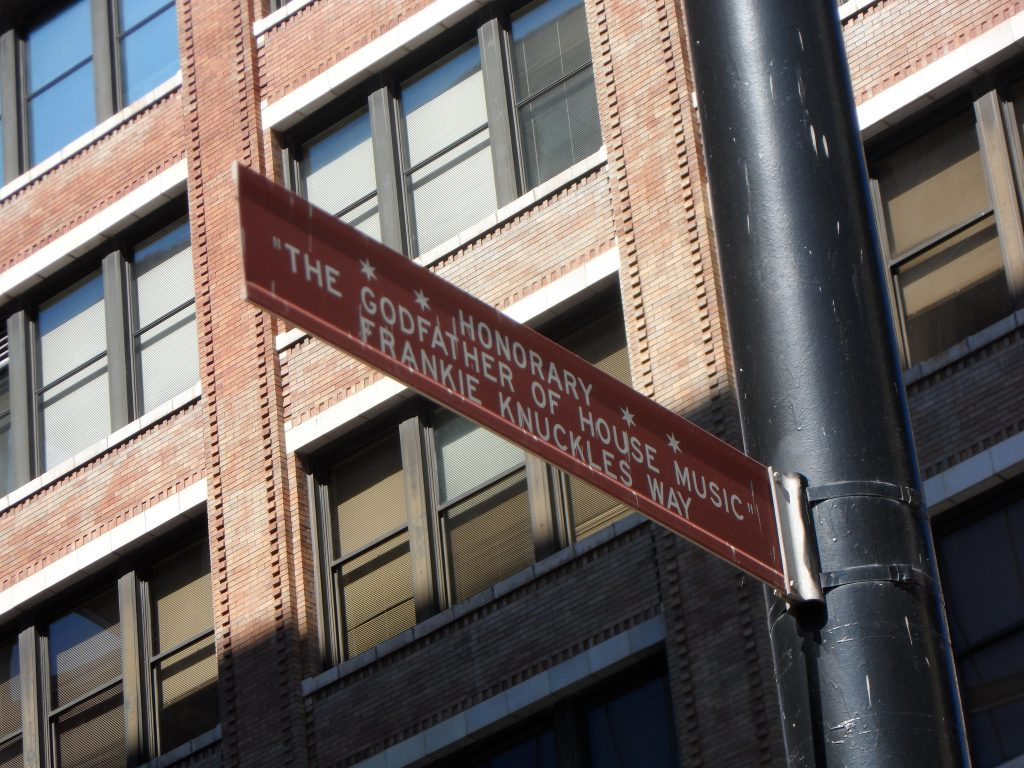 South Jefferson Street, the original site of the Warehouse, was renamed Frankie Knuckles Way in 2004   © Karen Bryan/Flickr