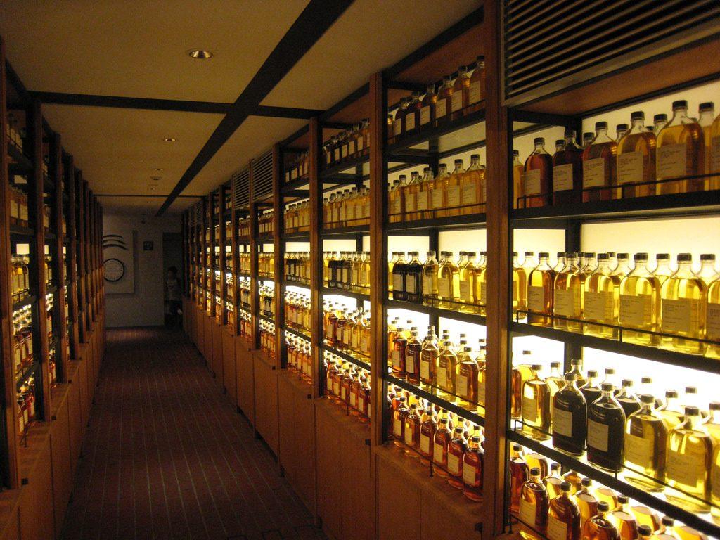 Whisky Library at Yamazaki Distillery | © Ethan Prater / Flickr