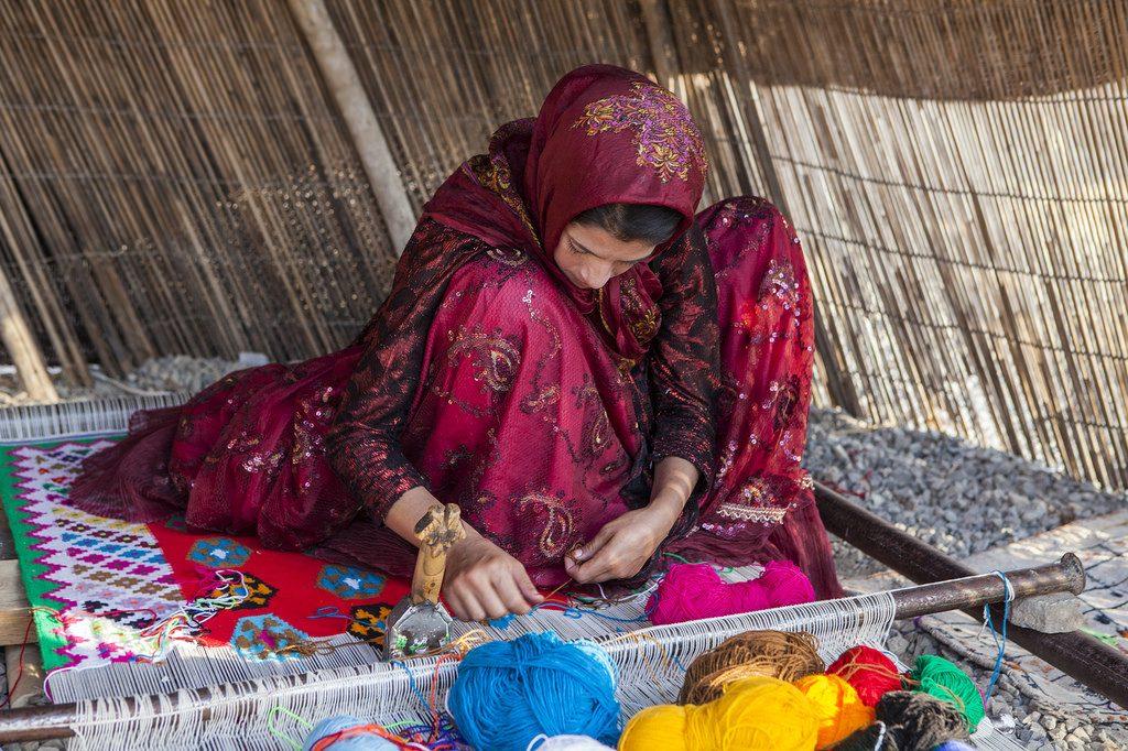 Carpet weaving is a tradition of the Qashqai | © Ninara / Flickr