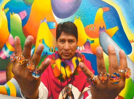 Meet Roberto Mamani Mamani Bolivia S Best And Brightest