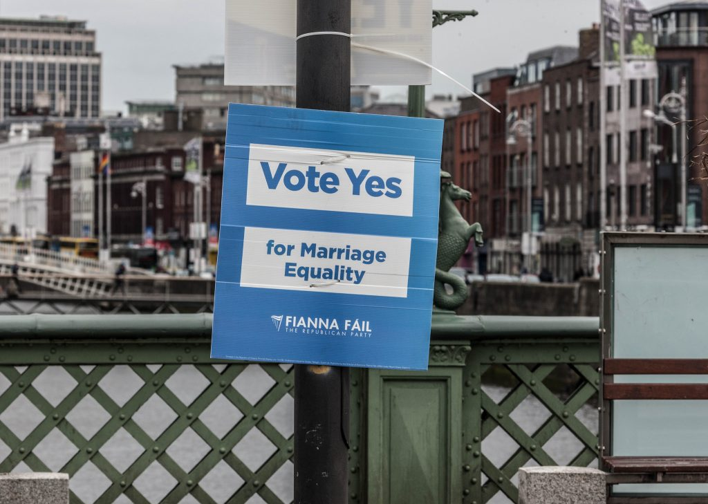 Poster Campaign For The Thirty-fourth Amendment of the Constitution (Marriage Equality) Bill 2015, Ireland | © William Murphy/Flickr