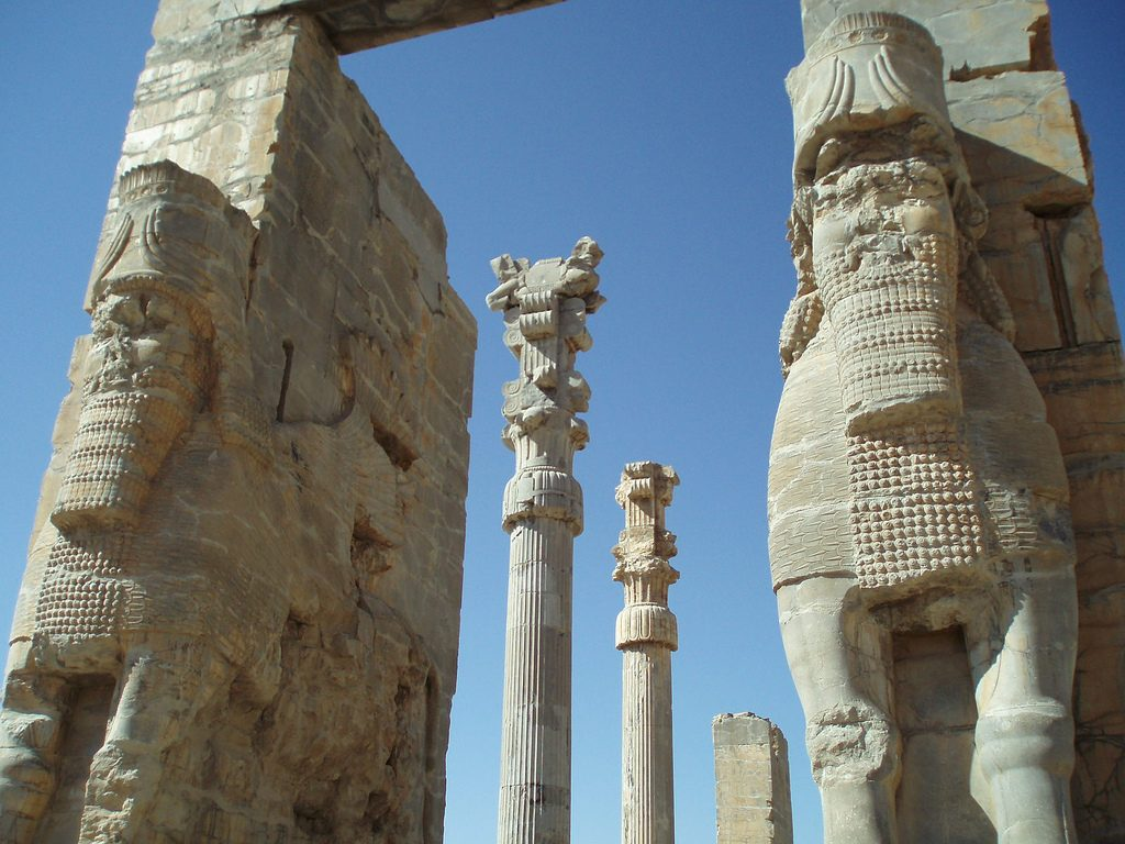 The Gate of All Nations in Persepolis | © DAVID HOLT / Flickr