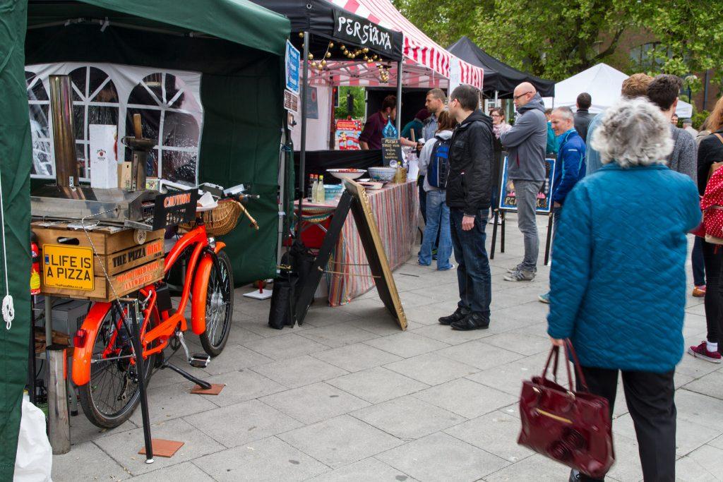 Harbourside market | © The Pizza Bike/ Flickr