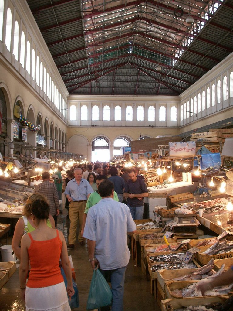 Must visit markets in athens greece for Central fish market