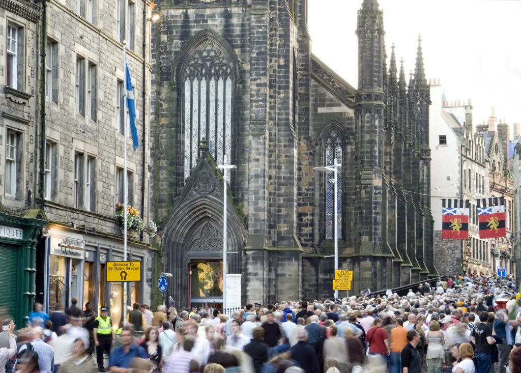 Royal Mile During The Fringe | Courtesy Of This Is Edinburgh