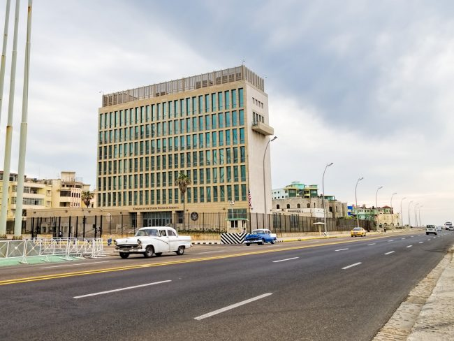 "<a href=""https://www.flickr.com/photos/9508280@N07/27263609516/"">U.S. Embassy in Havana 