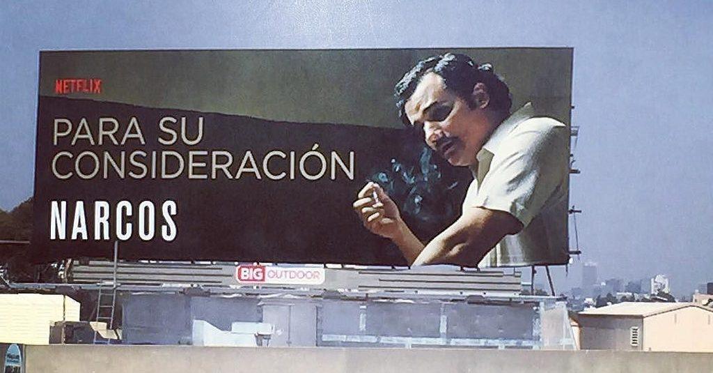Narcos billboard | © Johanna / Flickr