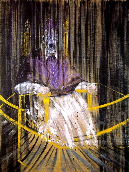Francis Bacon, 'Study after Velazquez's Portrait of Pope Innocent X' painting | © libby rosof/Flickr