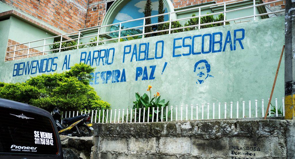 Pablo's old neighborhood in Medellín | © nigel burgher / Flickr