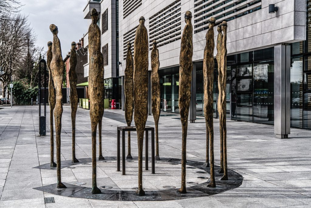 Proclamation monument by Rowan Gillespie | © William Murphy / Flickr
