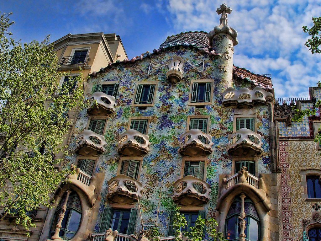 Casa Batlló, Barcelona | ©Matinibz / Wikimedia Commons