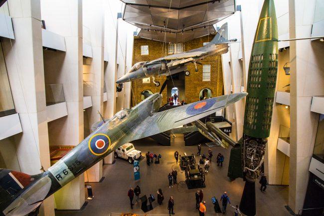 Inside Imperial War Museum