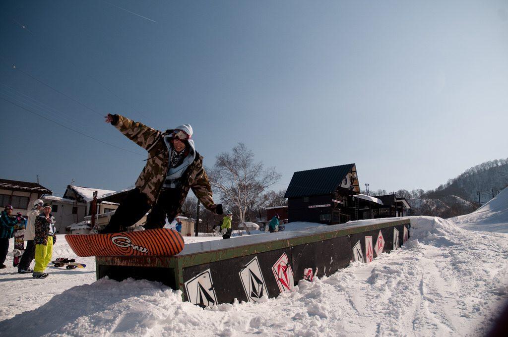 Snowboarding in Myoko | © Debuda / Flickr