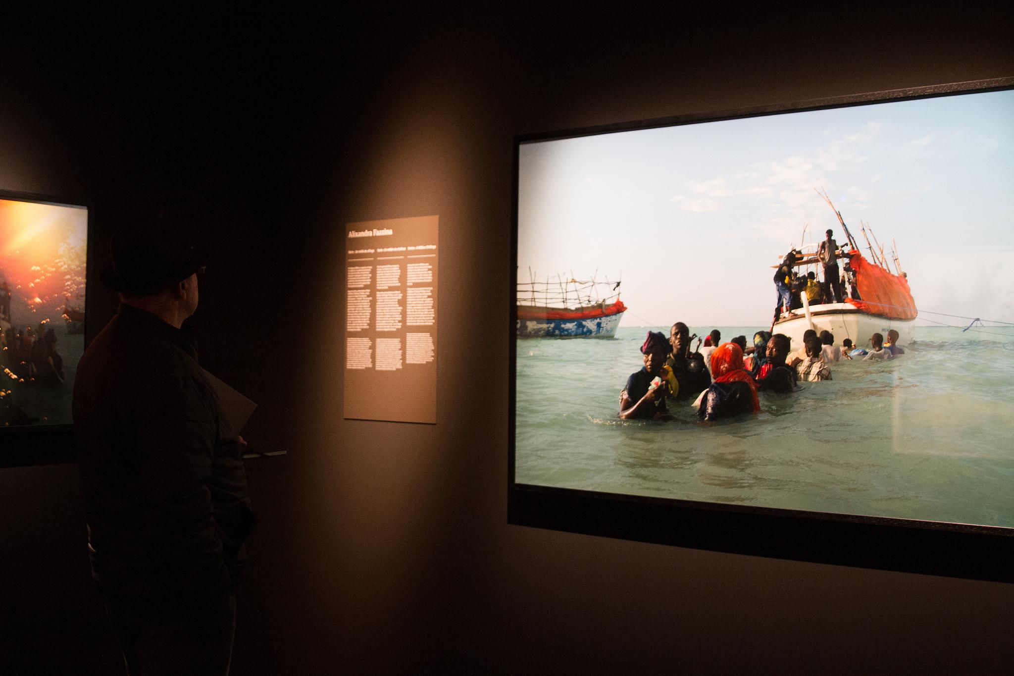 An exhibition at the Palau Robert © Palau Robert. Generalitat de Catalunya