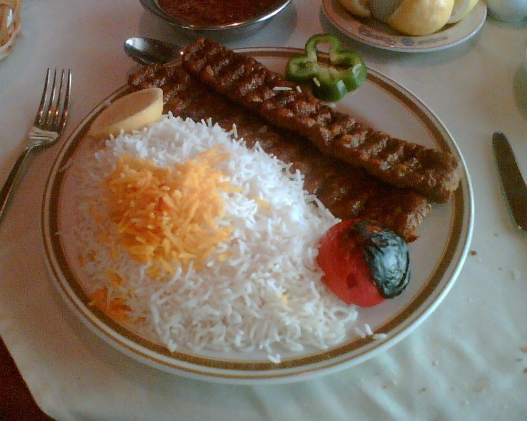 Kubideh kabab is served as a duo | © forzaq8 / Flickr