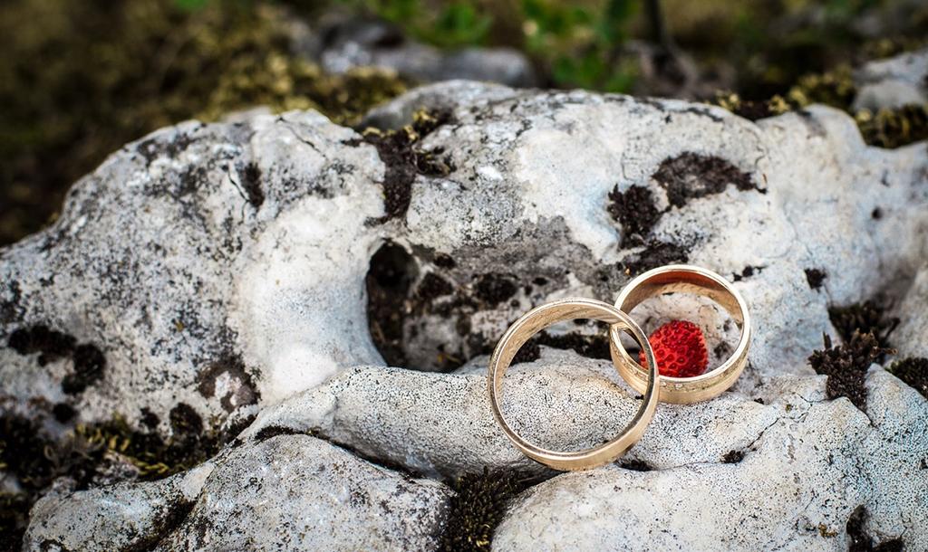 2 gold rings | © debowscyfoto/Pixabay
