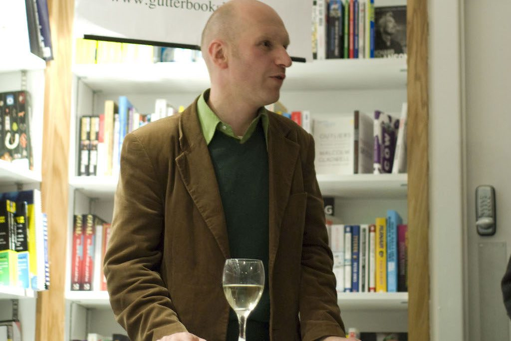 Bob Johnston, owner of The Gutter Bookshop, Dublin | Courtesy of The Gutter Bookshop, Dublin