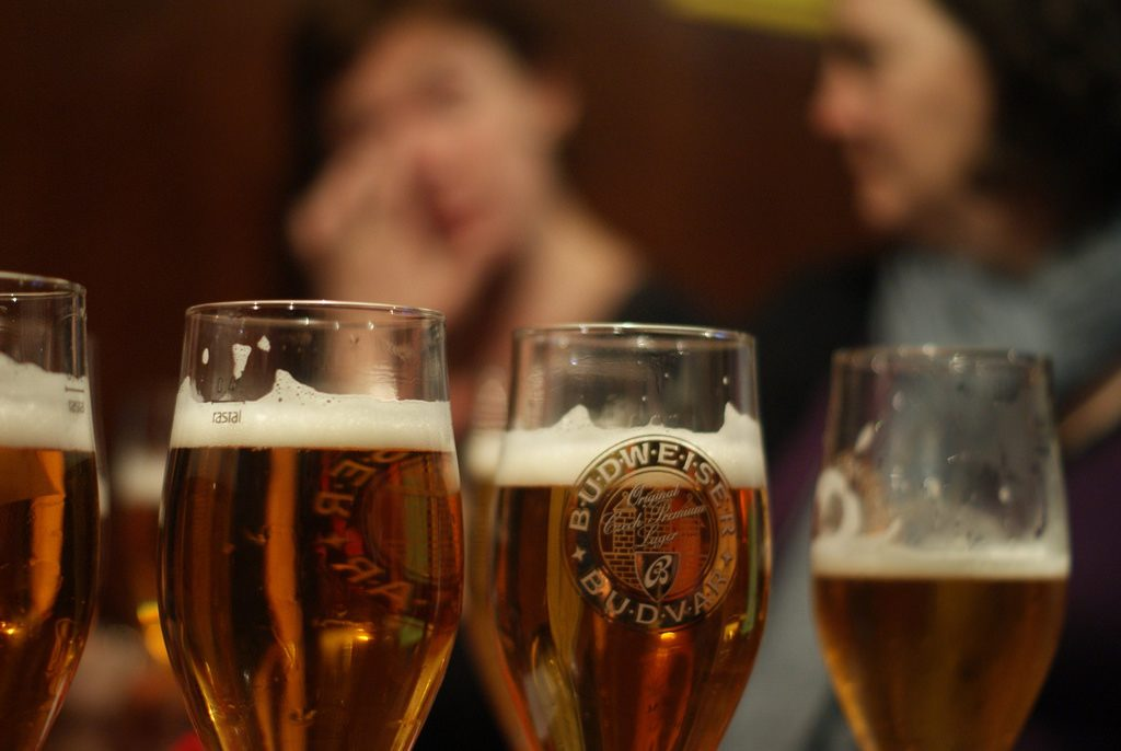 Beer drinking in Prague | Andy Powell / Flickr