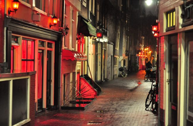 Red district wiesbaden light Just what