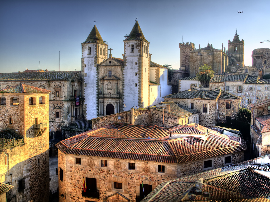 The historic centre of Cáceres © Javier Losa