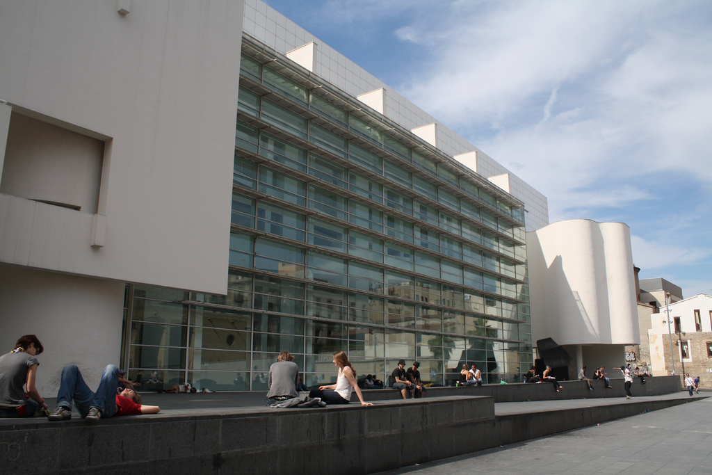 The MACBA © Allison Fender