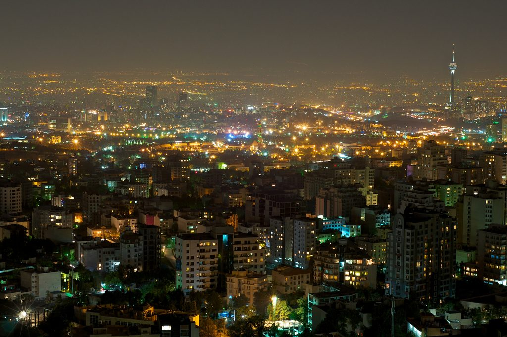 Skyline view of Tehran from Tochal | © Babak Farrokhi / Flickr
