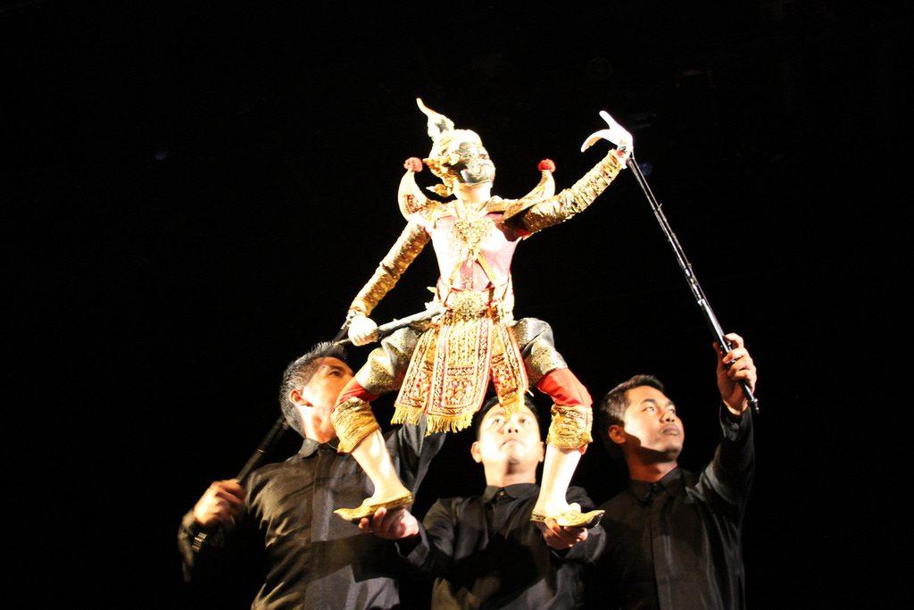 Thai puppet theater   © Ryan Lackey / Flickr