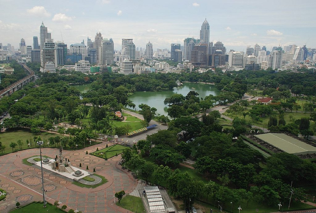 Lumpini Park, Bangkok   © Rick Tew's NinjaGym™ Martial Arts/Flickr