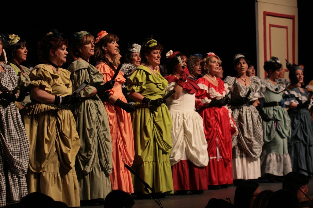 A modern Zarzuela performance © Goiena.net