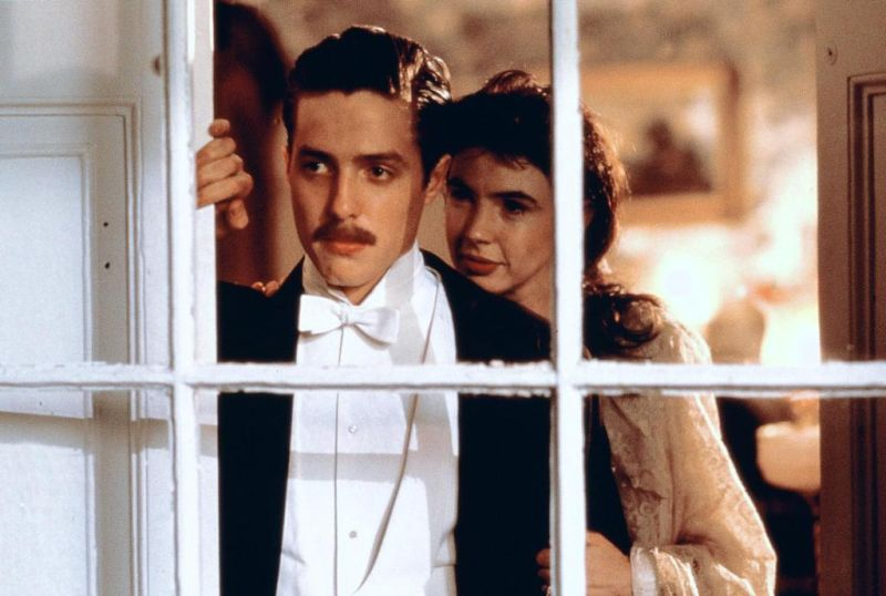 Hugh Grant, with Phoebe Nicholls as Anne Durham | © Cohen Media Group