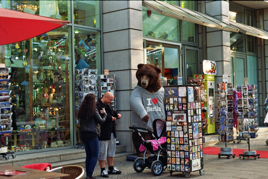 The Bear is an iconic symbol of Berlin | © Audrius Juralevicius/Flickr