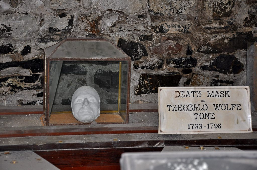 Wolfe Tone's death mask in St Michan's Church crypt | © Jennifer Boyer/Flickr