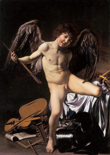 Amor Vincet Omnia | Caravaggio / Wikimedia Commons