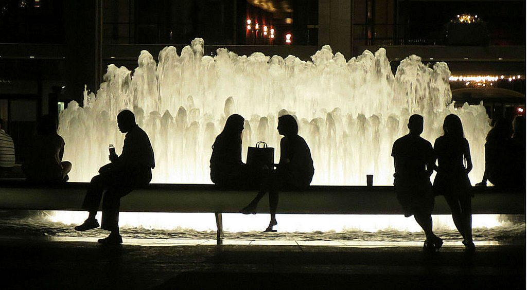 Fountain at Lincoln Center | John Wisniewski/Flickr