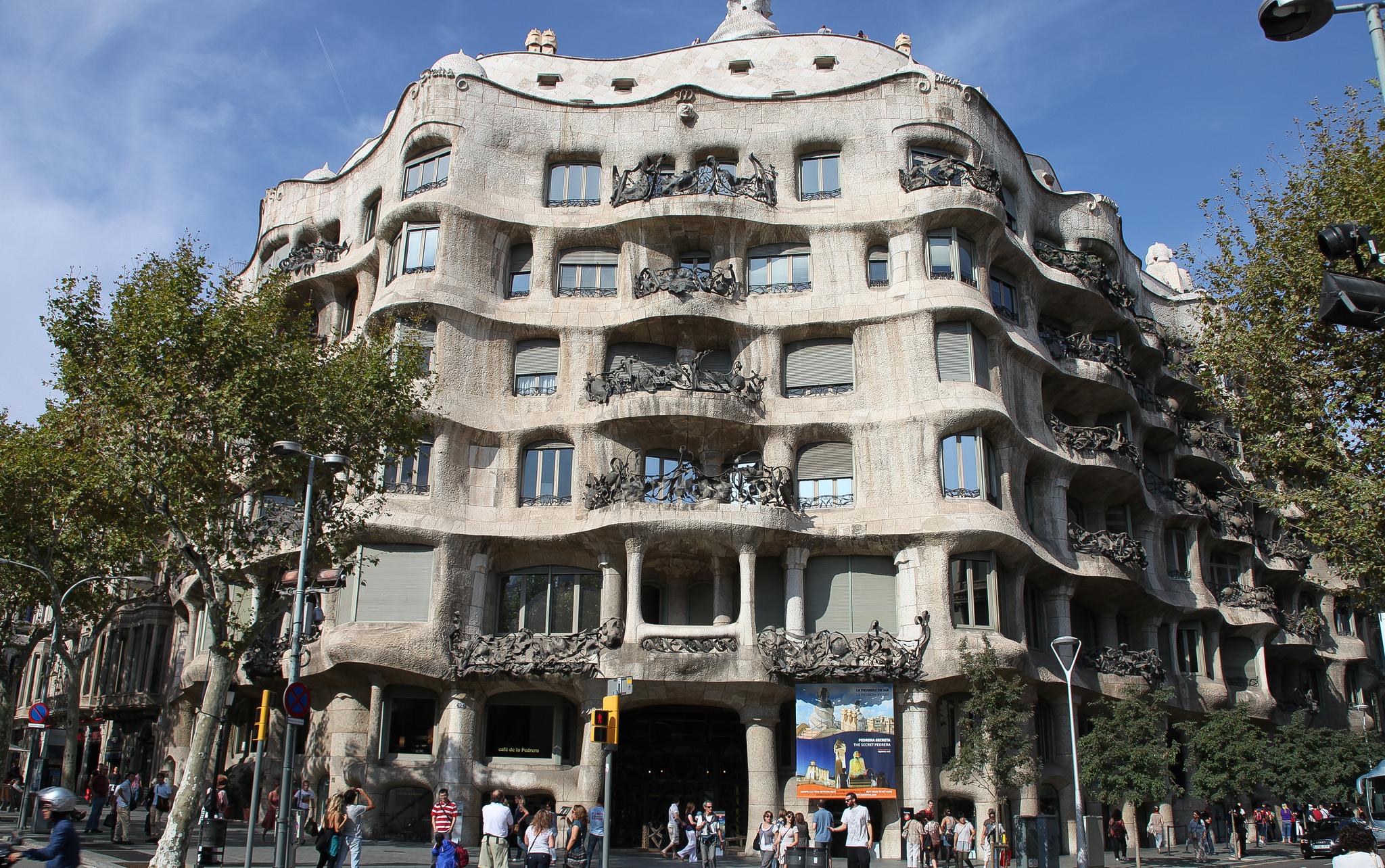 The Casa Milà or La Pedrera © Rick Ligthelm