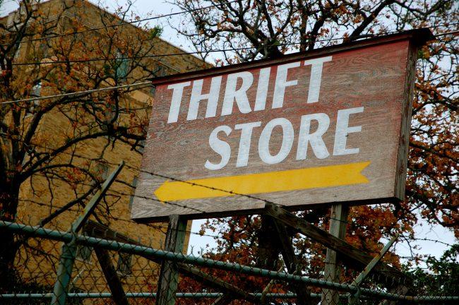 Thrift Store © Steve Snodgrass / Flickr