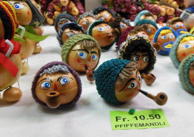 Decorated onions at Bern's Zibelemärit | © Lisa Stevens/Flick