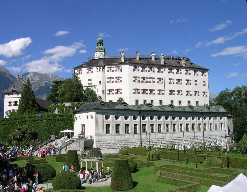 Exterior of the Schloss Ambras