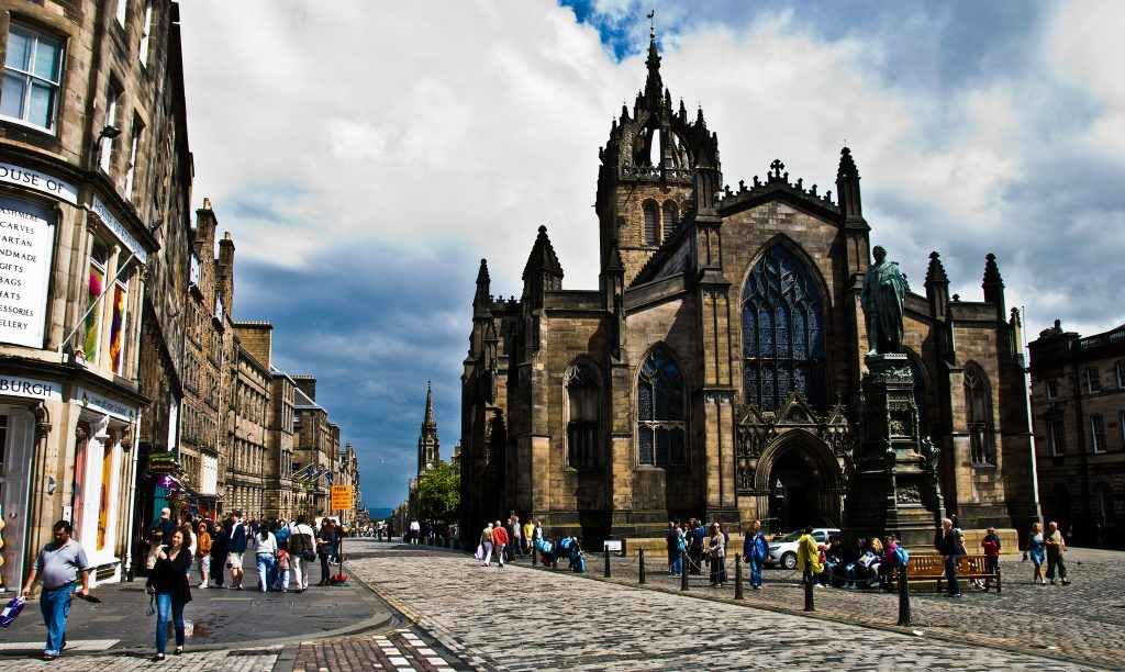 St. Giles Cathedral On High Street | © Gary Ullah / Flickr
