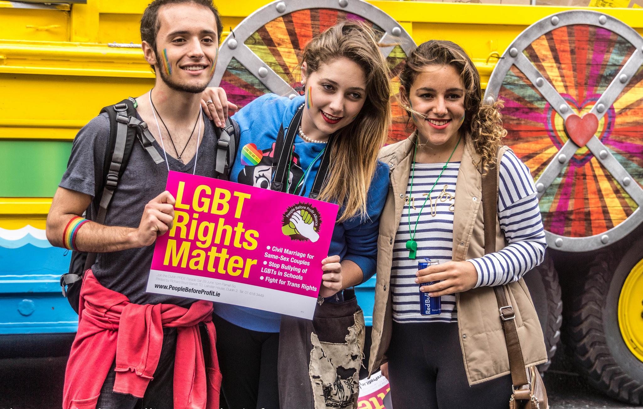 Dublin LGBTQ Pride Festival 2013 | © William Murphy/Flickr