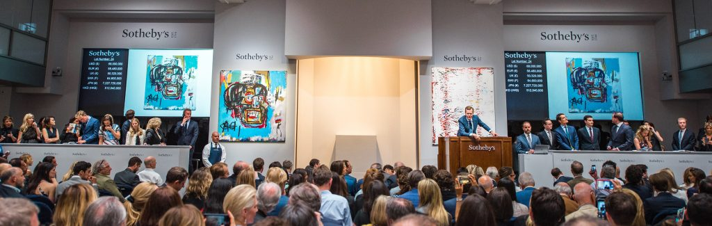 Auction shot   © Sotheby's 2017