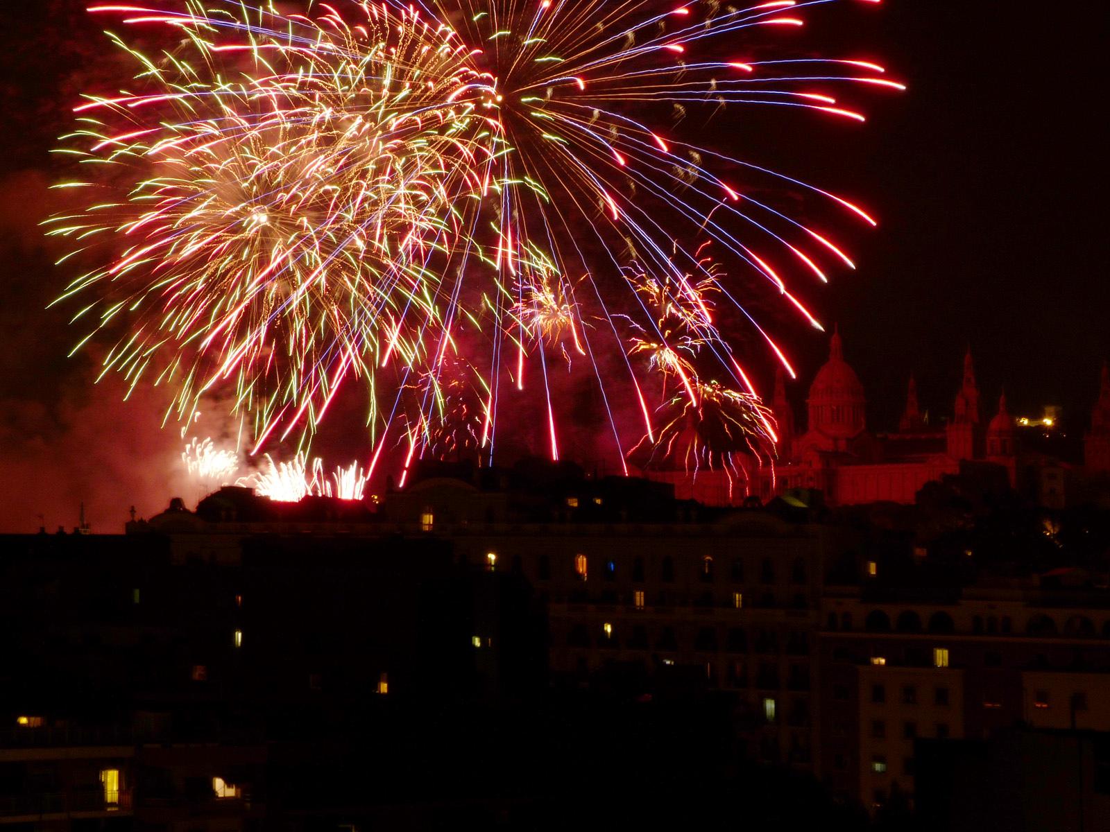 The La Mercè firework display © PROMiquel Angel Pintanel Bassets