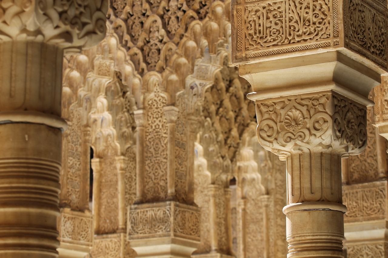"<a href=""https://pixabay.com/en/alhambra-granada-spain-architecture-503208/"">Detail of the Alhambra 