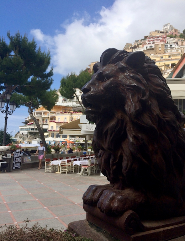 Bar View Buca di Bacco Positano I Gillian Longworth McGuire