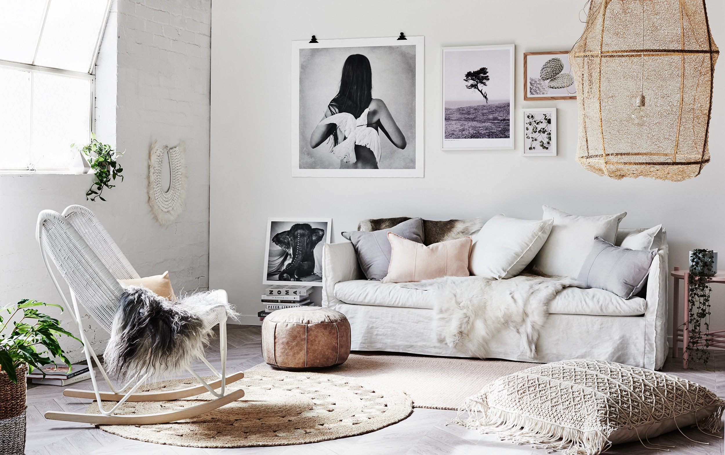 Get This Season's Bohemian Chic Look at Home