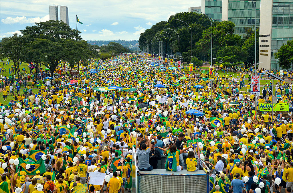 Protests against corruption |© Agência Brasil Fotografias/WikiCommons
