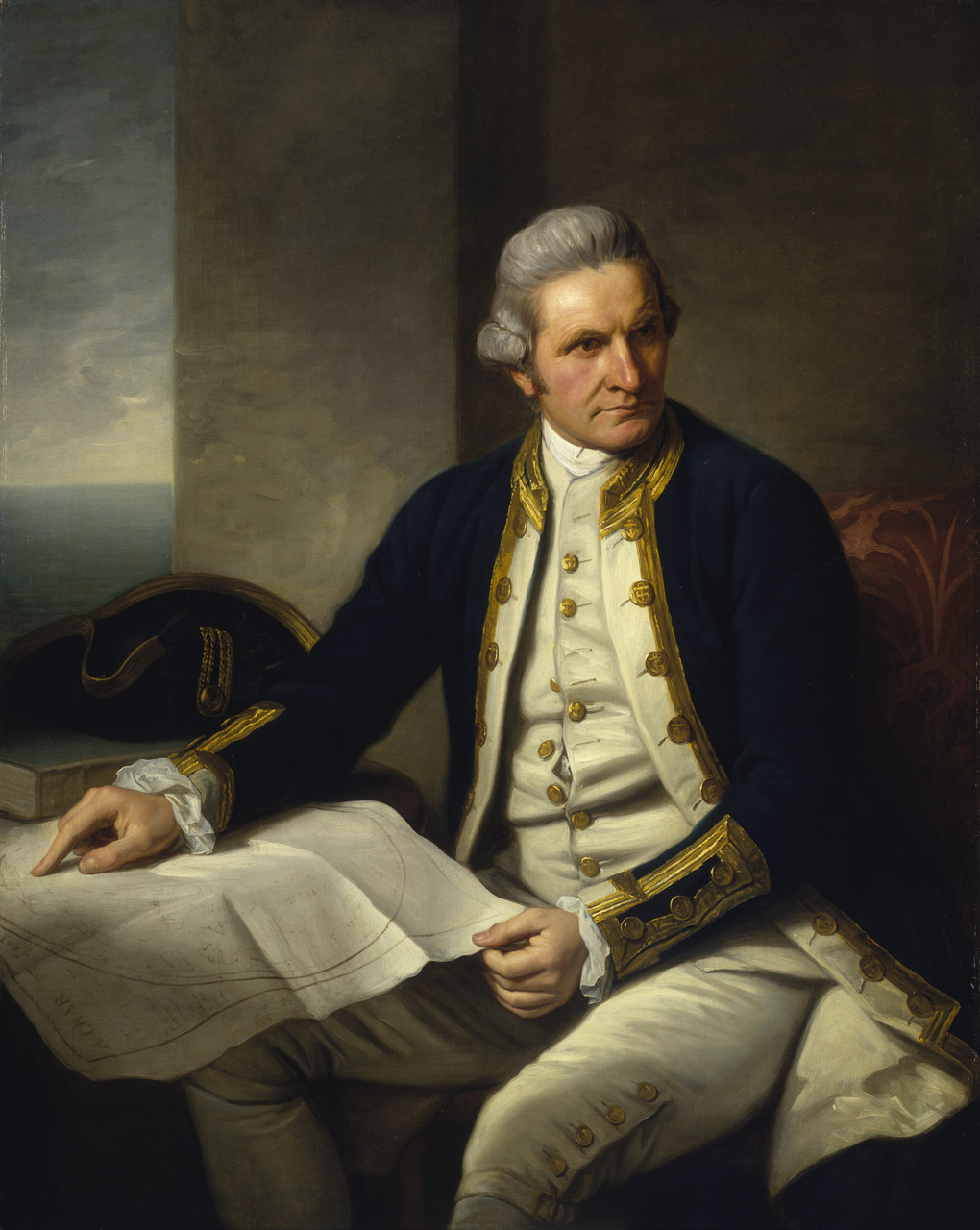 Captain James Cook | © Nathaniel Dance-Holland/WikiCommons