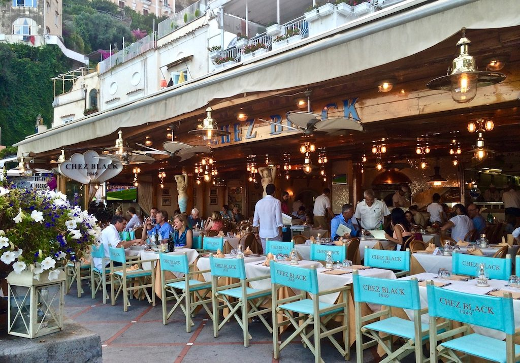 Chez Black Positano I Gillian Longworth McGuire
