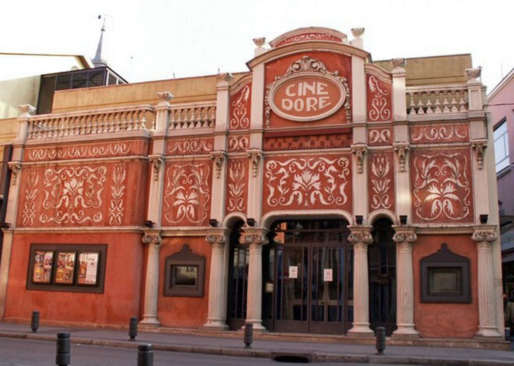 "<a href=""https://commons.wikimedia.org/wiki/File:Cine_Dor%C3%A9.jpg"">Madrid's Cine Doré | © Madripedia/J.L. de Diego/Wikipedia</a>"