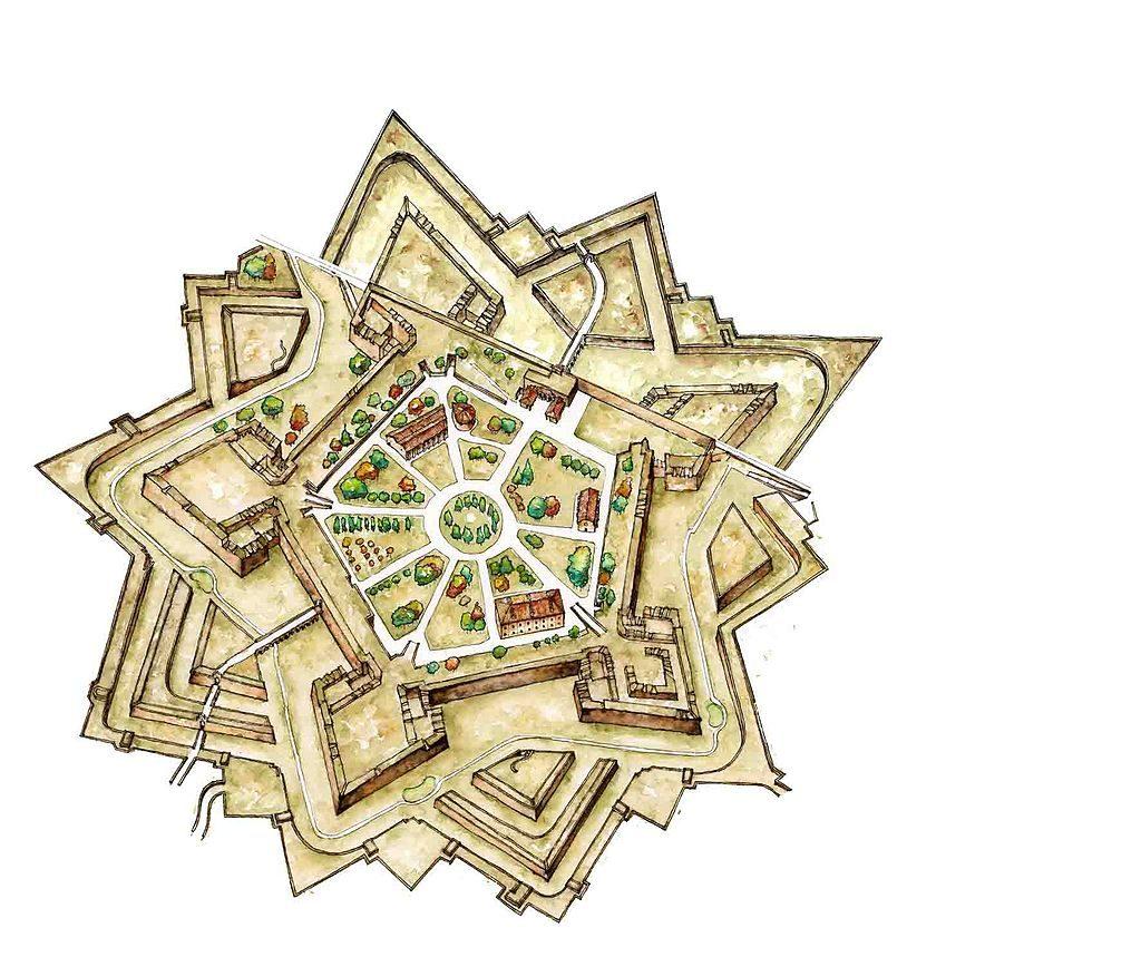 Pamplona citadel | ©GUIA ILUSTRADA / Wikimedia Commons